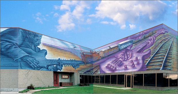 Levys mural